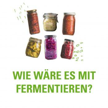 Fermentation – Workshop mit Jugendlichen in Falkensee